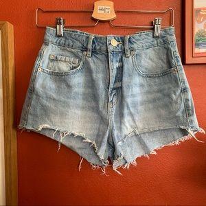 Garage Festival high waisted shorts sz 3